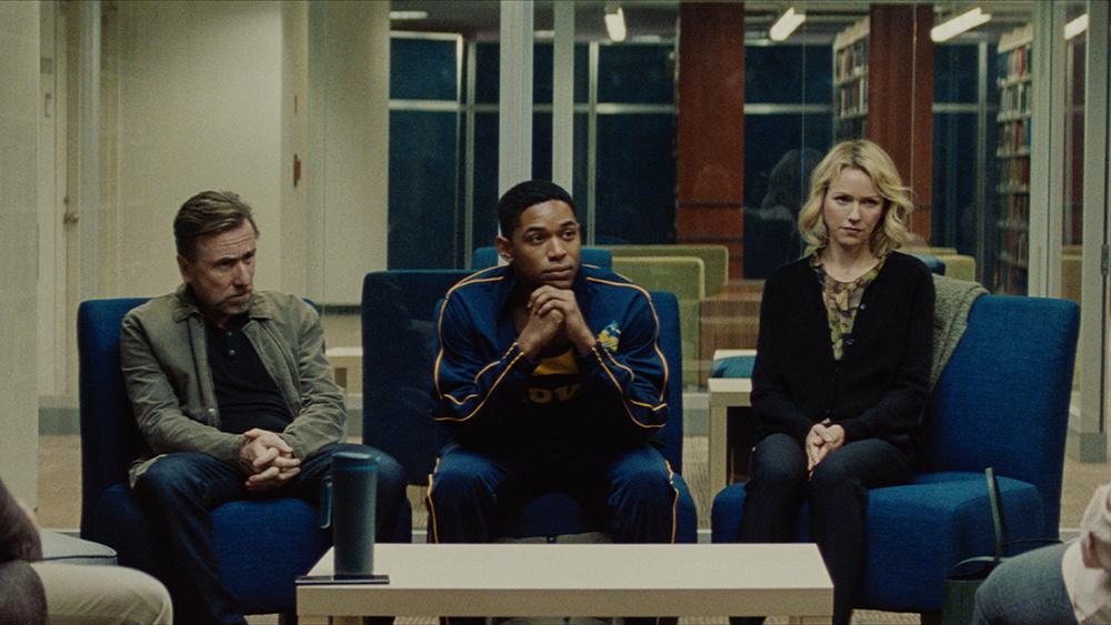 Tim Roth, Kelvin Harrison Jr. and Naomi Watts star in