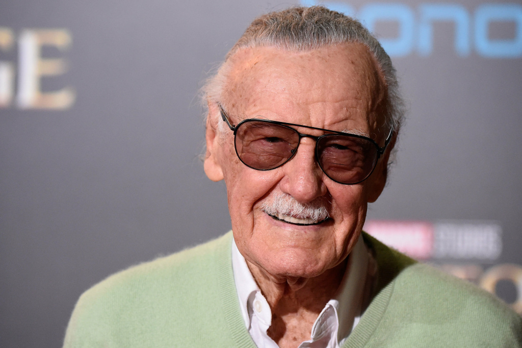 Stan Lee, American comic book writer, editor, publisher and former President of Marvel Comics, attends the premiere of <em>Doctor Strange</em> in 2016. Lee died Monday at the age of 95.