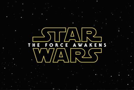 """Star Wars: The Force Awakens"" logo."