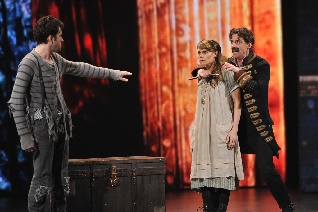 Christian Borle and cast of