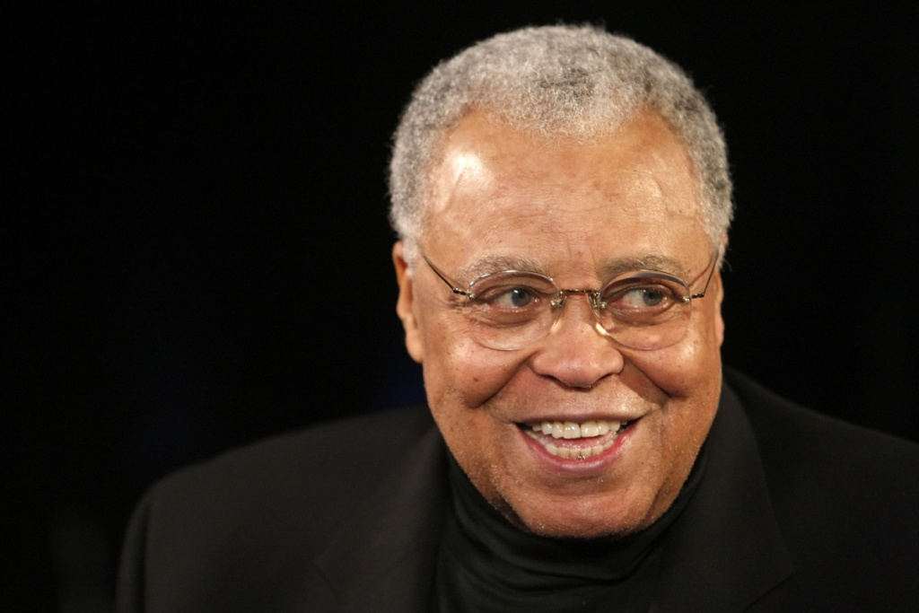 FILE: Actor James Earl Jones appears at rehearsals for the 2009 Screen Actors Guild Awards at the Shrine Auditorium on January 24, 2009 in Los Angeles, California.