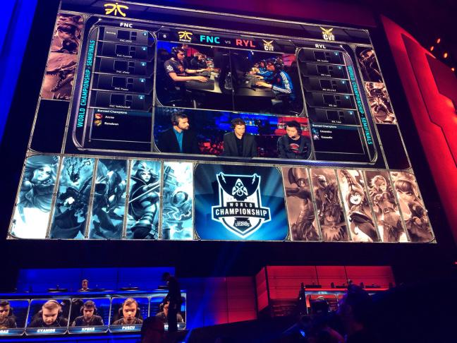 League of Legends tournament in downtown LA.
