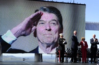 Centennial birthday celebration for former US president Ronald Reagan at the Reagan Presidential Library in Simi Valley, California February 6, 2011.