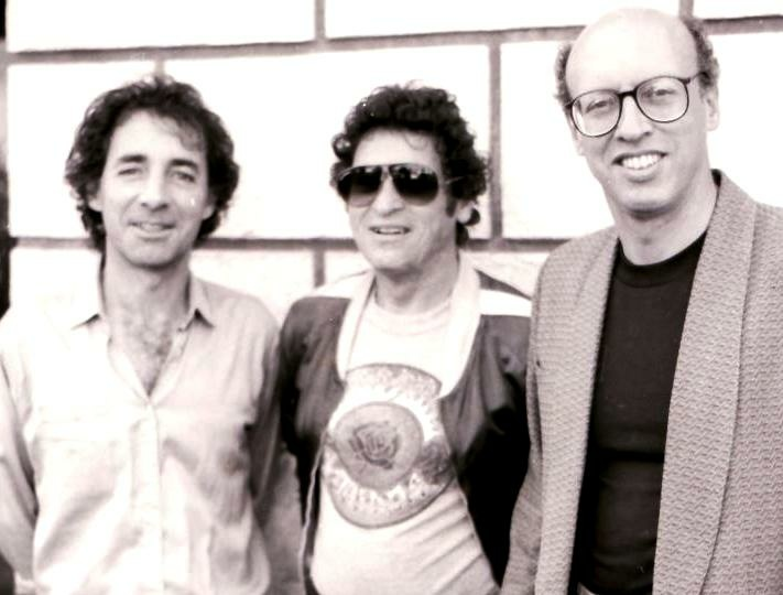 Peter, Paul, and Harry. L-R: Satirist, documentarian, and actor Harry Shearer; writer, comedian, and raconteur Paul Krassner; and the late Firesigner Peter Bergman.