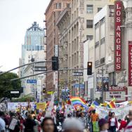 International Worker's Day in Los Angeles