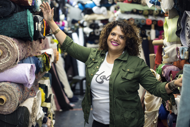 Sonia Smith-Kang is the founder and creative executive of Mixed Up Clothing, a multiethnic children's clothing line.