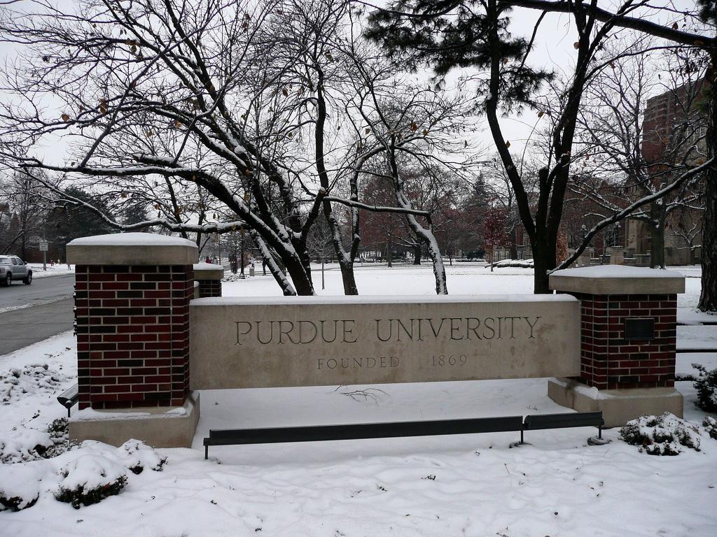 Purdue University in Indiana.