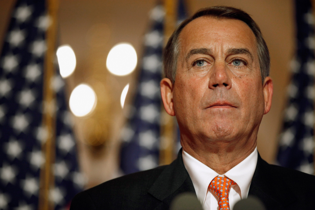 House Speaker John Boehner believes that if Democrats don't back down on taxes for the wealthy, the economy will be at risk.