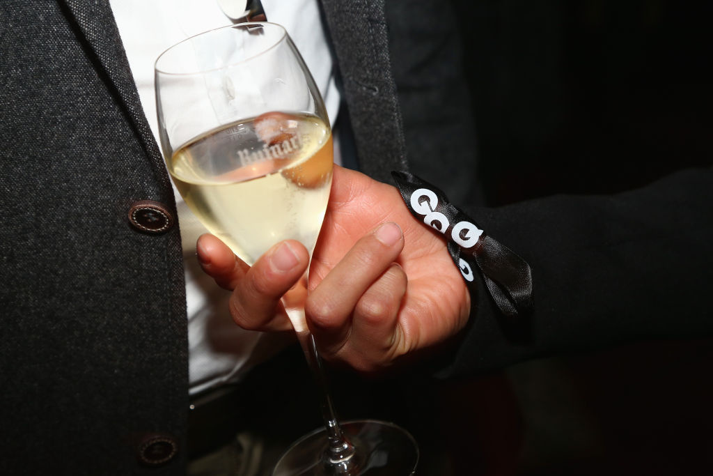 A general view of atmosphere is pictured at GQ Best Dressed cocktail.
