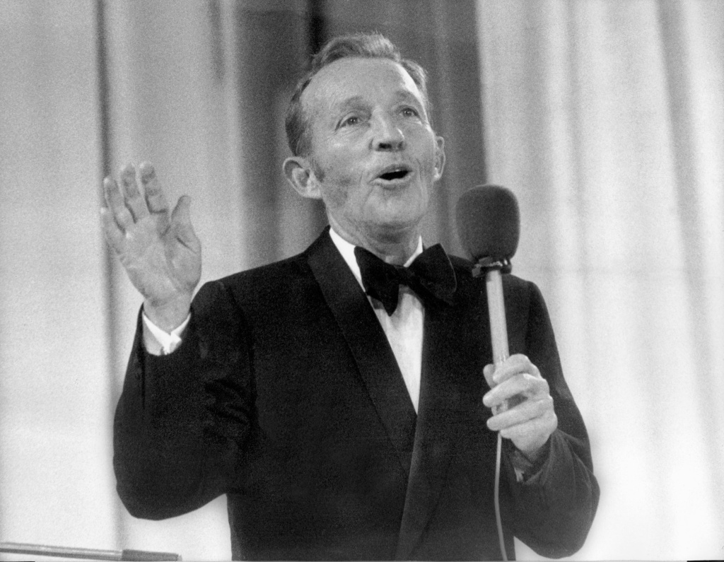 Bing Crosby's contributions to Christmas cheer include his famous rendition of