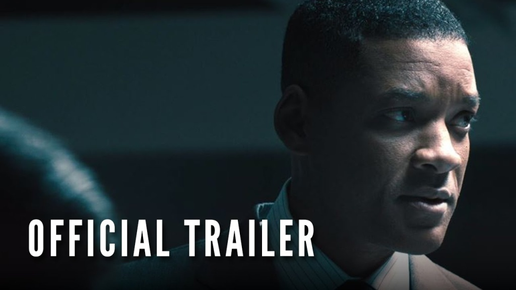 The trailer for the new film 'Concussion.'