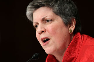 U.S. Secretary of Homeland Security Janet Napolitano testifies during a hearing before the Senate Judiciary Committee March 9, 2011 on Capitol Hill in Washington, DC.