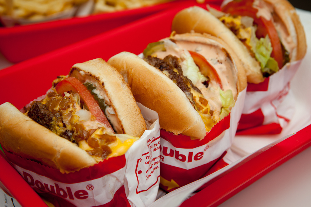 In and Out's Double Double Burger has been named the best burger in LA by Zagat. Do you agree?