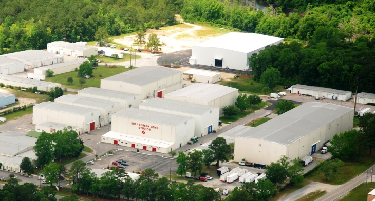 EUE/Screen Gems Studios in Wilmington, NC