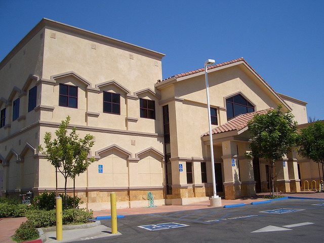 The Islamic Center of Irvine, a mosque allegedly targeted by the FBI informant