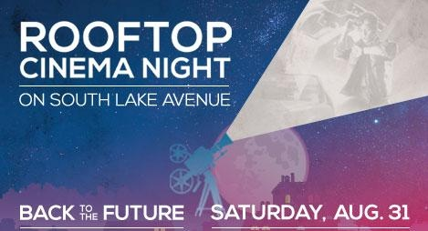 Rooftop Cinema Night on South Lake