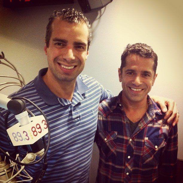 A Martinez and film director Daniel Barnz.