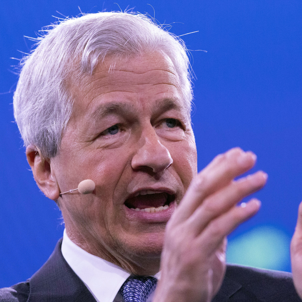 Jamie Dimon, Chairman and CEO of JPMorgan Chase, speaks at the Bloomberg Global Business Forum, in September.