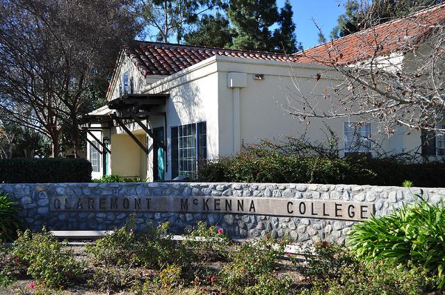 Claremont McKenna College, in Claremont, California.