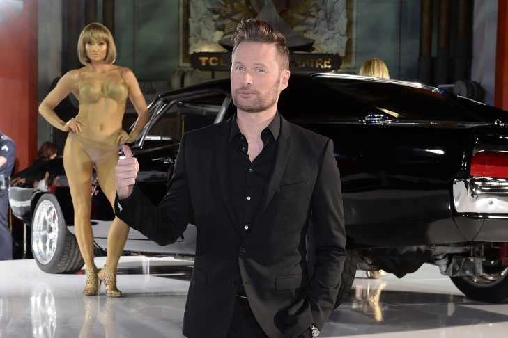 Composer Brian Tyler attends the Furious 7 Los Angeles Premiere Sponsored by Dodge at TCL Chinese 6 Theatres on April 1, 2015 in Hollywood.