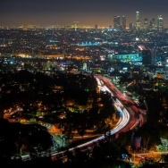 """Angel City"" time-lapse video that takes viewers on a tour of nighttime Los Angeles."