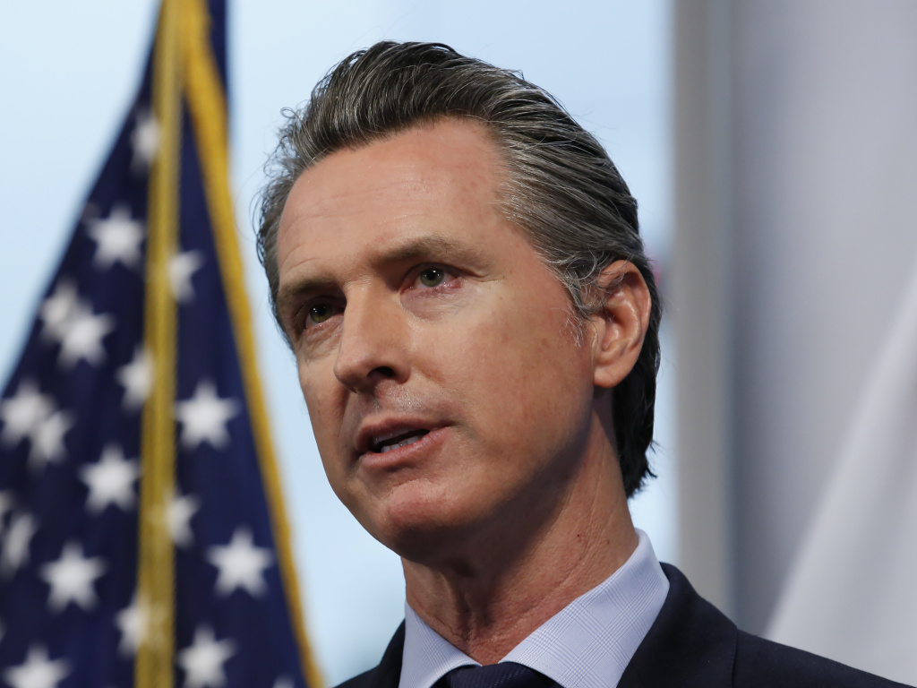 California Gov. Gavin Newsom released his May budget revision Thursday, May 14 2020.