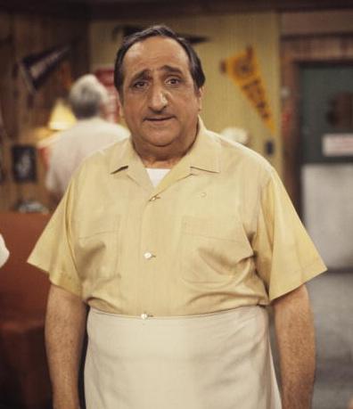Al Molinaro, who played malt shop owner Al Delvecchio on