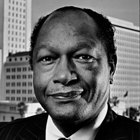 Former mayor of Los Angeles, Tom Bradley.