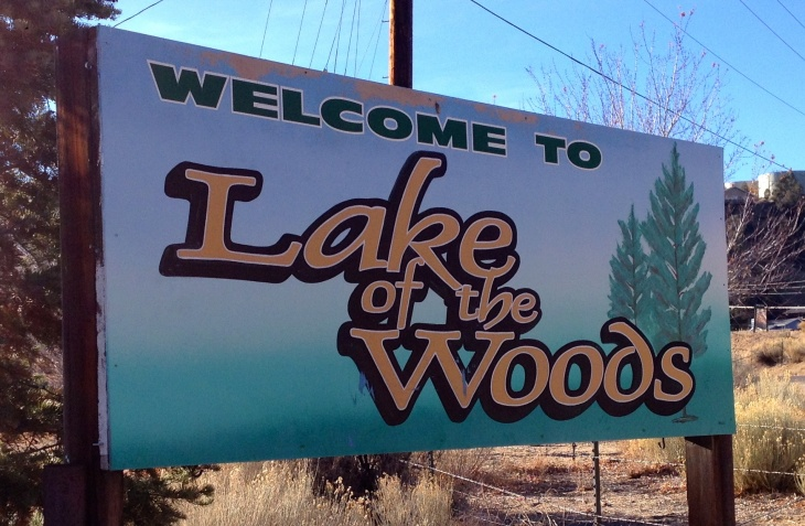 The 400-property community of Lake of the Woods is running short of water.