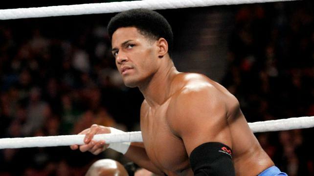 An official WWE headshot of pro wrestler Darren Young.