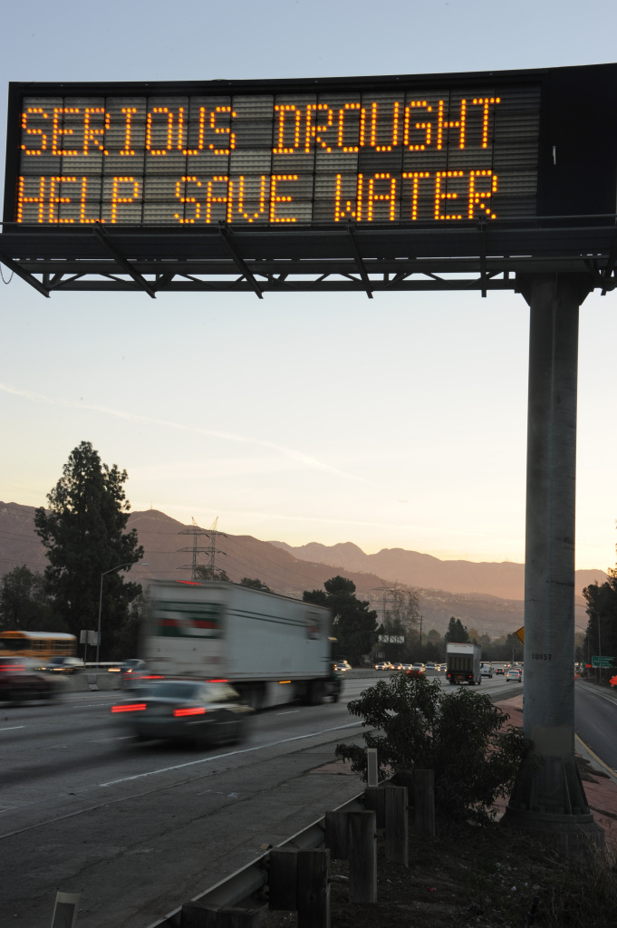 Water conservation in California increased slightly in September, reversing months of decline.