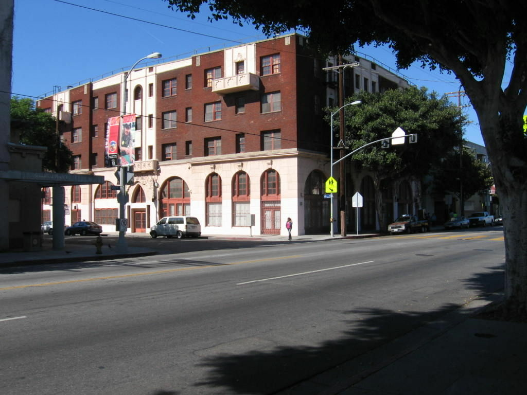 The historic Dunbar Hotel on Central Ave. is being re-made into senior housing.
