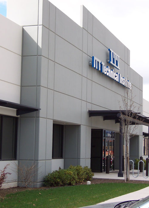 File photo of ITT Technical Institute in Spokane Valley.