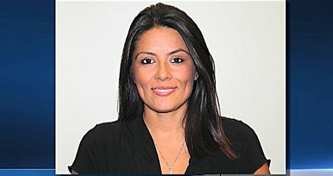 Andrea Alarcon announced her resignation Friday, less than two months after her daughter was found unattended at City Hall after a late night reception.