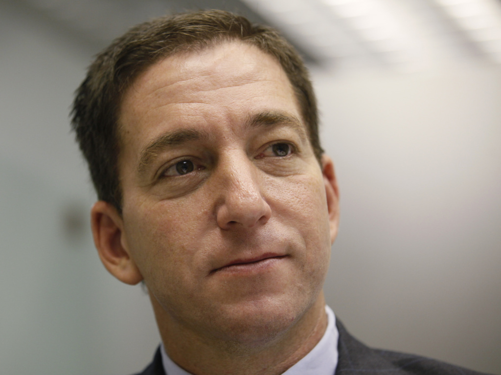 Glenn Greenwald, columnist/blogger/lawyer/advocate.