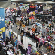 The convention floor at San Diego Comic-Con 2014.