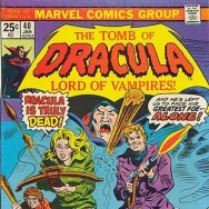 Tomb of Dracula, written by Marv Wolfman.