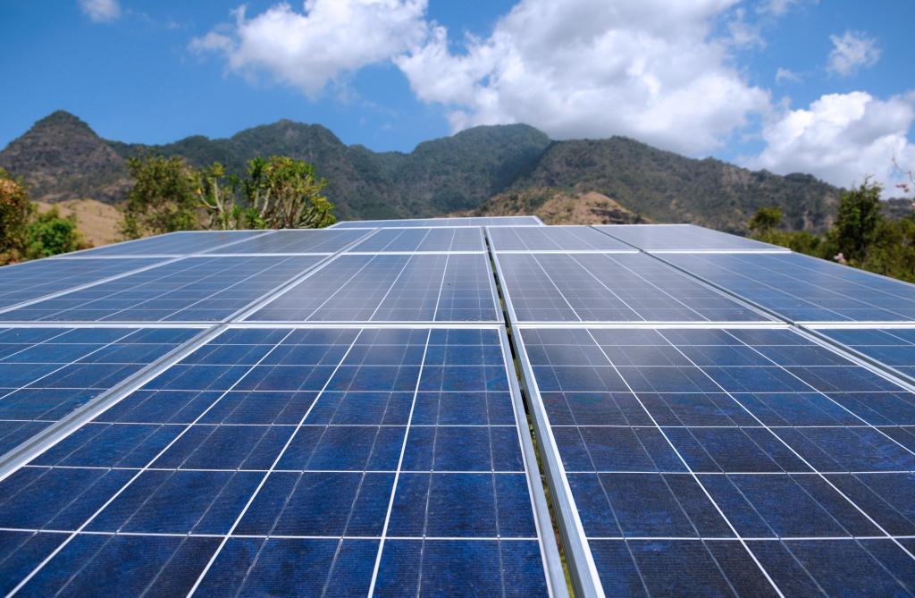 Jeda Villa Bali. Solar-powered.