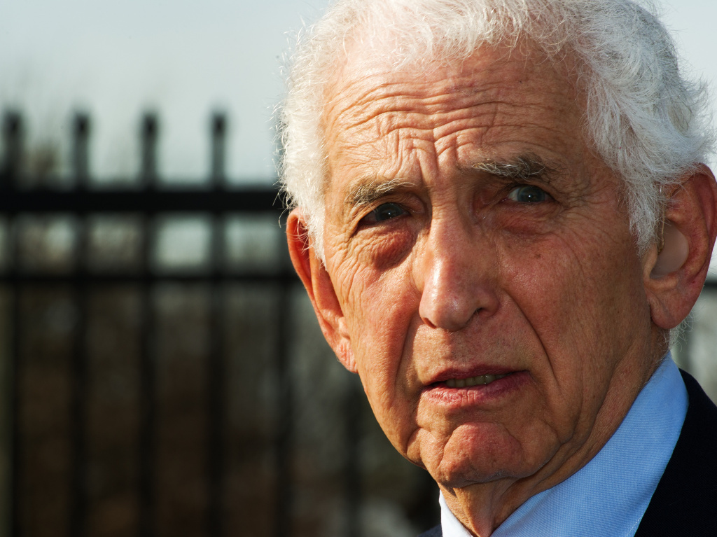 Daniel Ellsberg, the military analyst who, while employed by the RAND Corporation in 1971, released the Pentagon Papers, a top-secret study of U.S. government decision-making in Vietnam.