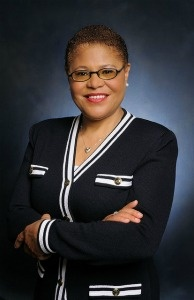 Rep. Karen Bass, (D-Los Angeles), member of the House Budget Committee.