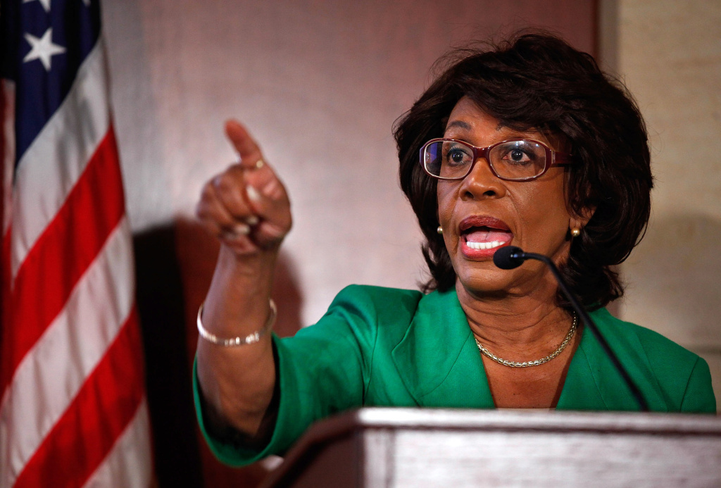 Rep. Maxine Waters (D-CA) holds a news conference to challenge the charges made against her by the House of Representatives ethics committee at the U.S. Capitol August 13, 2010 in Washington, DC.