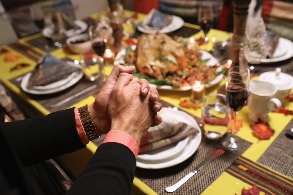Thanksgiving dinner has increasingly become associated with difficult family conversations, often over politics.