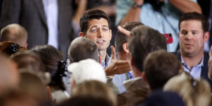 Romney's VP candidate Paul Ryan Campaigns In Denver, Co.