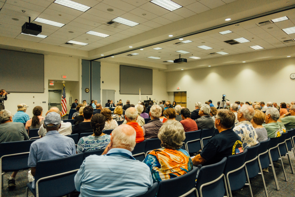 The House Veterans Affairs Subcommittee on Health held a hearing on VA nursing home care at the Ventura County Office of Education in Camarillo on July 30th, 2018.