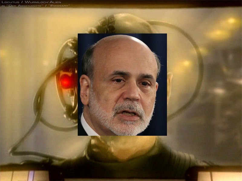 Resistance to Fed policy is futile, Professor Krugman.
