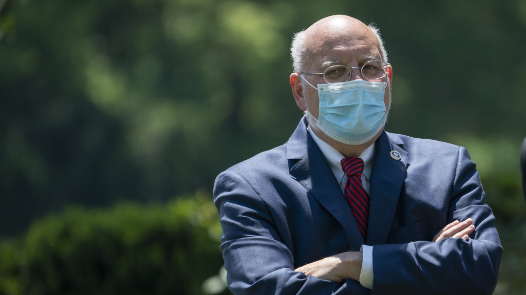 Dr. Robert Redfield, director of the Centers for Disease Control and Prevention, says a new analysis supports the effectiveness of the CDC's system for spotting infectious disease outbreaks early.
