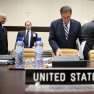 US Defense Secretary Leon Panetta Attends NATO Conference In Brussels