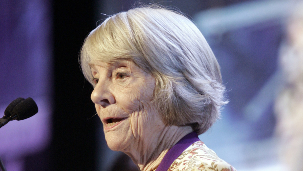 Longtime Knopf editor Judith Jones, photographed in 2006, died Wednesday at her home in Vermont, according to the publisher.