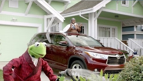 Video: Toyota ad starring Terry Crews and the Muppets.