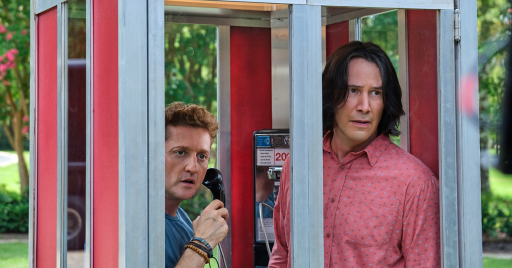 Alex Winter and Keanu Reeves in
